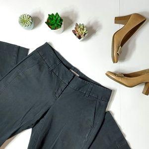 Ann Taylor   Black Khaki Boot Leg Pants